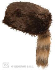 HUT DAVY CROCKETT Militär Hunter Hat Karnevalskostüme 115 3316K