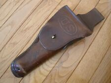 WWI US ARMY LEATHER M1916 SWIVEL HOLSTER - COLT 1911 & Belt