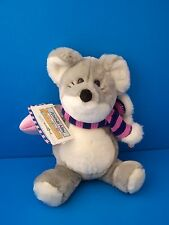 New listing Animal Alley Flurrie and Friends Mouse Plush Lovey Pink Scarf Toys R' Us w/Tags!