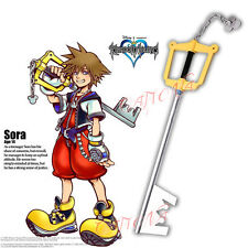 Cafiona Kingdom Hearts II Sora Roxas Key Blade Prop Cosplay Accessory Halloween