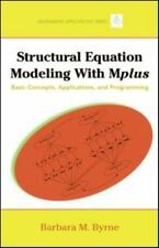 Multivariate Applications: Structural Equation Modeling with MPlus : Basic...