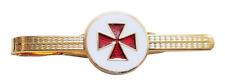 Knights Templar Cross Pattée Masonic Freemasonry Tie-Slide