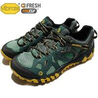 Merrell All Out Blaze Aero Sport Green Yellow Men Outdoors Hiking Shoes J37689