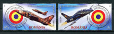 Romania 2016 MNH Aviation Anniversaries Coanda to F-16 2v Set Stamps