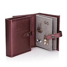 The Little Little Book of Earrings jewellery storage organiser bronze, travel