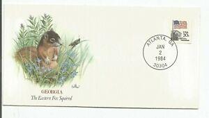 Baby Wildlife of the 50 States - Fleetwood - Georgia Eastern Fox Squirrel  #RACF