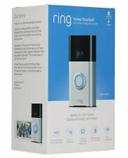 Ring Wi-Fi Enabled Video Doorbell - Satin Nickel