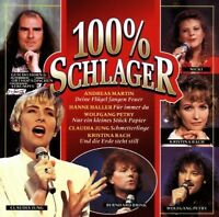 100% Schlager CD - Andreas Martin, Hanne haller Brand New Sealed Music Audio CD