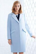 H&M Pastel Blue Coat Jacket Size 6 Retail $150