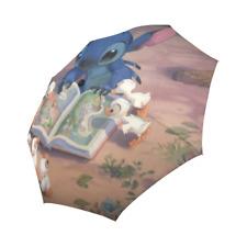 Custom Lilo And Stitch Auto Foldable Rain Umbrella
