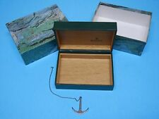 ROLEX OYSTER BOXES WITH ANCHOR CHAIN IN EXCELLENT SHAPE & FREE SHIPPING