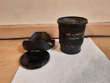 Objectif Sony DT 11-18 mm F4.5-5.6  (SAL1118)