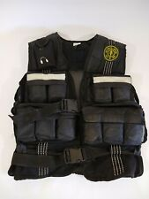 GOLDS GYM Weighted Workout Exercise Vest Adjustable Total Weight 20 POUNDS