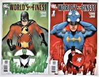 Worlds Finest #1 (of 4) 2009 Ltd Series 2 Covers UNREAD NM- FREE SHIPPING!!