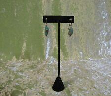 Stone Earrings Dangling Torquoise