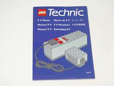 Lego Technic Anleitung 9 V Motor
