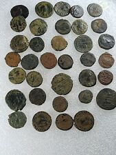 More details for very fine random 1 uncleaned ancient roman bronze coins various periods for sale