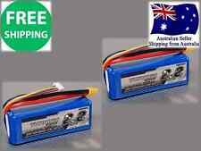 2 Pack Turnigy 2200mAh 3S 25C Lipo Pack XT-60 JST-HX Battery RC Plane Car Drone