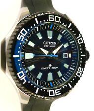 Citizen Promaster Eco-Drive Diver's 300m - SOLAR - SUNBURST GUILLOCHE DIAL - NEW