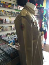 ARMY STYLE JACKET WITH PATCH POCKETS PLAIN BACK RASTA SAND COLOUR (JACKET ONLY)
