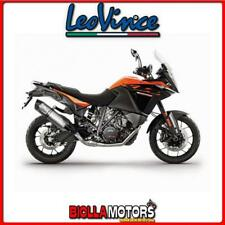 14192E MARMITTA LEOVINCE KTM 1090 ADVENTURE/R 2017- LV ONE EVO INOX/CARBONIO