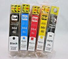 Ink Cartridge for HP Photosmart 7520 6520 6510 6380 5520 5510 HP564 XL 564XL 5PK
