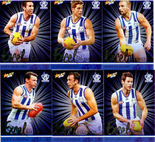 2016 Select AFL Footy Stars Trading Card Excel Silver Team Set(12)--Nth Melb