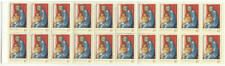 Australia #1392a Mnh booklet 40c Christmas Madonna Painting 1994 cv $16