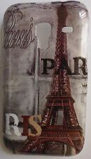 COVER CUSTODIA Samsung Galaxy Ace Plus S7500 Torre Eiffel Francia Parigi Paris