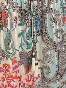 Daniel Rainn Women's FloralBlouse Shirt Top Plus Size 2X Boho Stitch fix