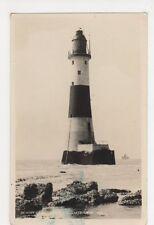 Beach Head Lighthouse, Eastbourne RP Postcard, B353