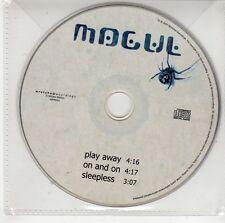 (GS92) Mogul, Play Away / On & On / Sleepless - 2003 DJ CD