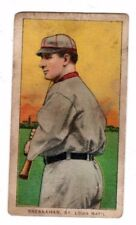 1909 - 1911 T206 Roger Bresnahan with Bat - St. Louis, Good Condition'