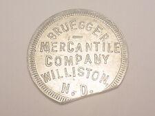Williston, ND Trade Token - Bruegger Mercantile Company (1915-1920)