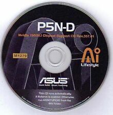 ASUS P5N-D Motherboard Drivers Installation Disk M1279