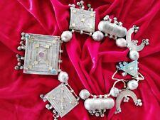 Antica originale collana in argento berbero, composta da 16 elementi