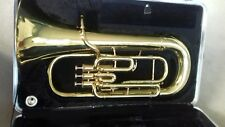BUNDY Euphonium with case and mouth piece