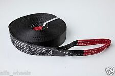 "2"" 9000lbs Tow Strap 60ft winch sling off-road ATV UTV snatch vehicle recovery"