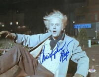 CHRISTOPHER LLOYD SIGNED 11X14 PHOTO BACK TO THE FUTURE DOC BROWN AUTO PSA/DNA M