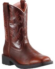 Ariat Krista Pull-on Steel Toe Boots