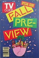 TV Guide Magazine October 1-7, 1988 FALL PRE-VIEW Roseanne, Empty Nest, Paradise