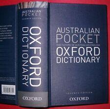 Australian Pocket Oxford Dictionary by Oxford University Press Australia (Hardback, 2013)