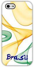 CASE iPhone 5/5S/Se Custom4u Brasil Sintonia BRAZIL NEW