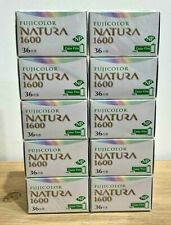 Fuji FUJICOLOR 1600 NATURA 36exp color film set of 10   Expired  DHL ship