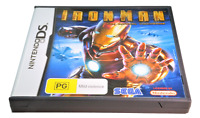 Iron Man The Official Video Game Nintendo DS 2DS 3DS Game *Complete*
