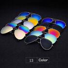 New Women Men Fashion Aviator Mirror Lens Sunglasses Vintage Retro Glasses TY