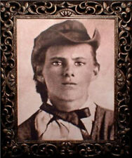 "Haunted Spooky Jesse James Photo ""Eyes Follow You"""