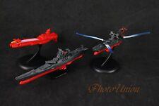 A620 HJK Space Battleship Yamato Star Blazers Dessler CARRIER Figure Toy Model
