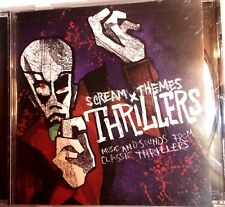 Halloween CD Screen Themes Thrillers by TUTM Entertainment 2007 Compilation