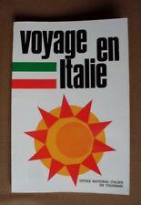Ancien livre «Voyage en Italie» de 1970, Office national italien du Tourisme